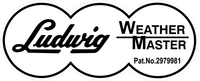 Ludwig Weather Master Decal / Sticker 10