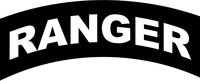 Ranger Rocker Decal / Sticker 02