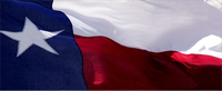 Texas Flag Decal / Sticker 03