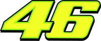 46 Valentino Rossi Decal / Sticker d