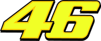 46 Valentino Rossi Decal / Sticker e