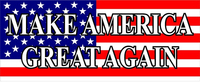 American Flag MAGA Decal / Sticker 03
