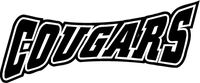 Cougars Mascot Decal / Sticker