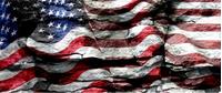 American Flag Rocks Decal / Sticker 41