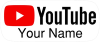 YouTube Decal / Sticker 06