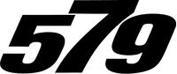Peterbilt 579 Decal / Sticker a