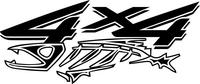 Z 4x4 Piranha Decal / Sticker Design 52