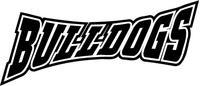 Bulldogs Mascot Decal / Sticker