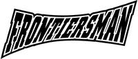 Frontiersman Mascot Decal / Sticker
