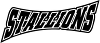 Stallions Mascot Decal / Sticker