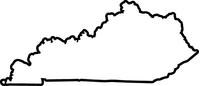 Kentucky Decal / Sticker 02