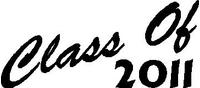 Class Of 2011 Decal / Sticker