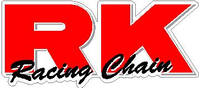 RK Racing Chain Decal / Sticker