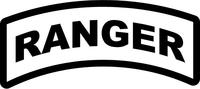 Ranger Rocker Decal / Sticker 01a