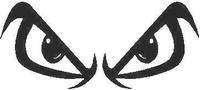 Fear Eyes Decal / Sticker 02