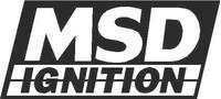 MSD Ignition Decal / Sticker 01