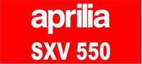 Aprilia SXV 550 Decal / Sticker 19
