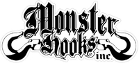 CUSTOM MONSTER HOOKS DECALS and STICKERS