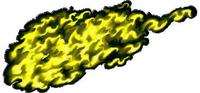 Yellow True Fire Decal / Sticker