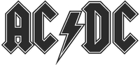 AC/DC 02 Decal / Sticker