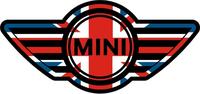 Mini Cooper UK Flag Decal / Sticker 07