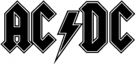 CUSTOM AC/DC DECALS and AC/DC STICKERS