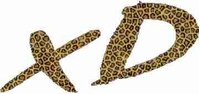 Leopard Print Scion xD Decal / Sticker
