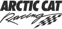 Arctic Cat Racing 01 Decal / Sticker