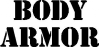 CUSTOM BODY ARMOR DECALS and STICKERS