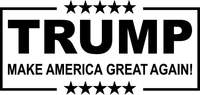 TRUMP 2020 Decal / Sticker 09