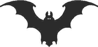 Bat 01 Decal / Sticker