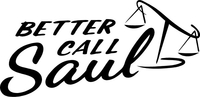 Better Call Saul Decal / Sticker 02