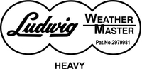 Ludwig Weather Master Decal / Sticker 04
