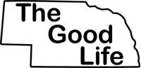 Nebraska The Good Life Decal / Sticker 03