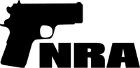 NRA Handgun Decal / Sticker 07