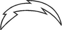 Lightning Bolt Decal / Sticker 02