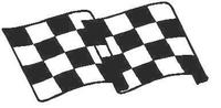 Checkered Flag Decal / Sticker 15