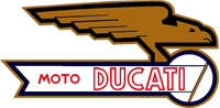 Moto Ducati Decal / Sticker 11