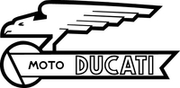 Moto Ducati Decal / Sticker 19