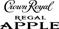 Crown Royal Regal Apple Decal / Sticker 03