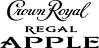Crown Royal Regal Apple Decal / Sticker 03