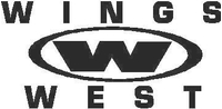 Wings West Decal / Sticker 01