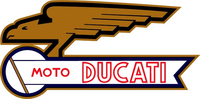 Moto Ducati Decal / Sticker 08