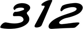 Formula 312 FASTech Decal / Sticker 13