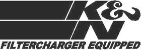 K&N Air Filters Decal / Sticker 02