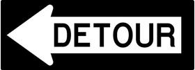 Detour Decal / Sticker 03