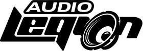 Audio Legion Decal / Sticker 04