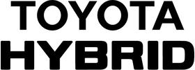 Toyota Hybrid Decal / Sticker 06