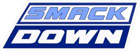 WWE Smack Down Decal / Sticker 03