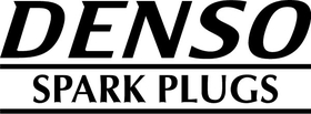 Denso Spark Plugs Decal / Sticker 04
